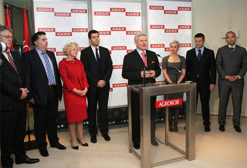 Agrokor receives confidence from the world's major investors