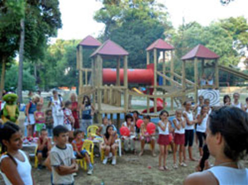 "First ""Merry Saturday"" on the playground within Vruljica Park"