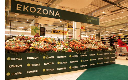First Ever Croatian Eco-Brand EKOZONA Exclusively in Konzum