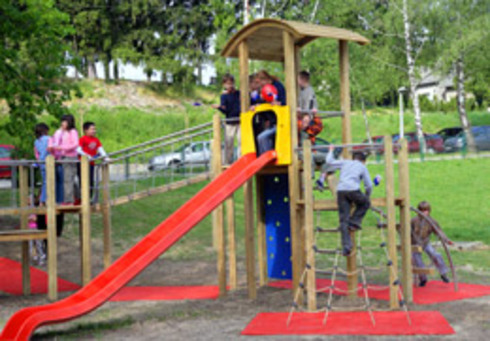 "Two new playgrounds opened within the Project ""Let's get back playgrounds to children"""