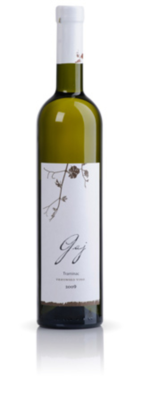 Traminac Gaj 2009 - new wine from Mladina Wine Cellar
