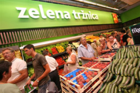 First Super Konzum Store Opened in Zadar