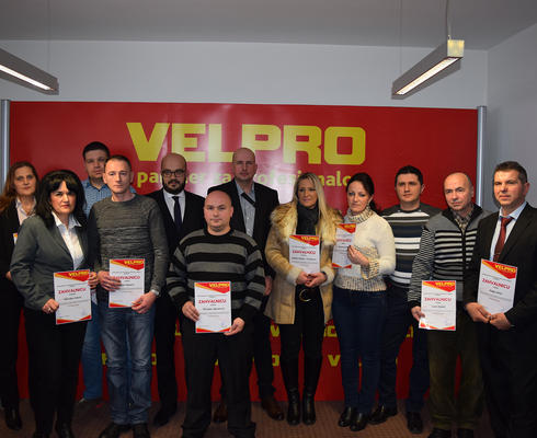 """Pride of Velpro"" employees in BiH"