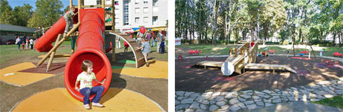 Konzum opens the tenth and eleventh playground in the campaign Let's Bring Playgrounds Back to Children