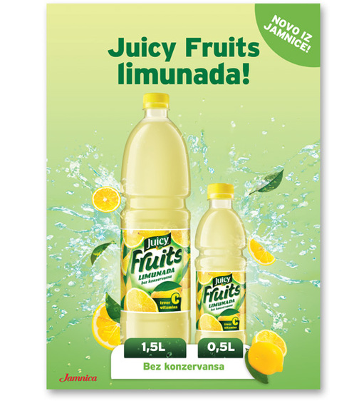 Juicy Fruits limunada