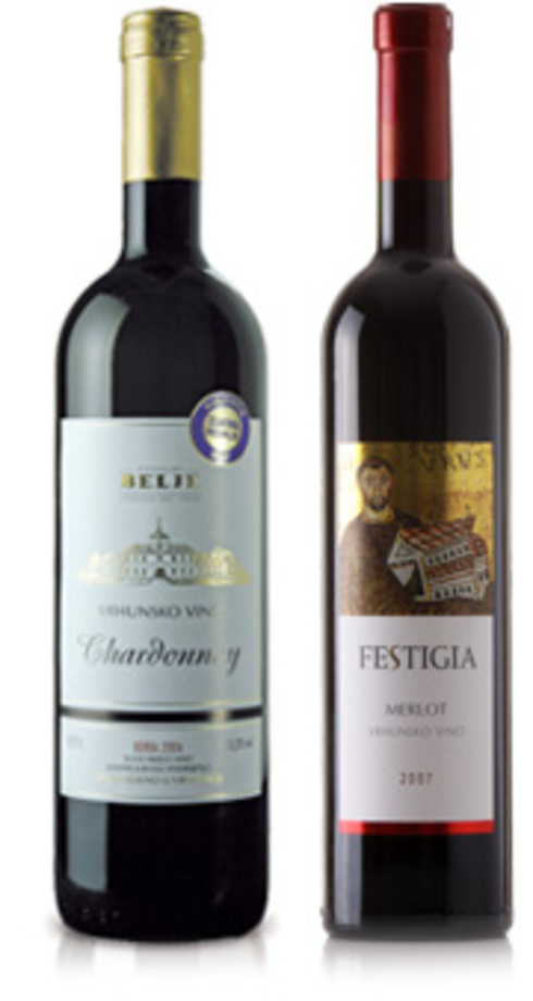 Top results for supreme wines of Podrumi Belje and Agrolaguna
