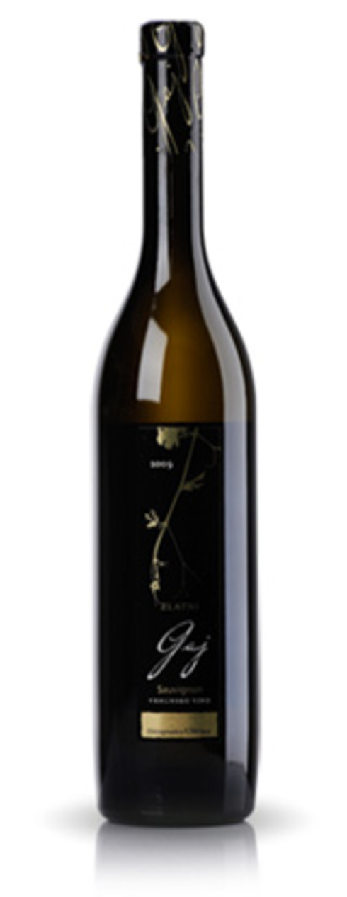 Wine cellar Mladina cultivates wine for ultra-premium series - Golden Sauvignon Gaj