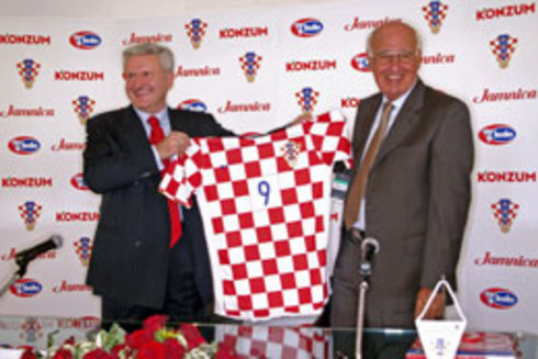 Co-operation between Agrokor and Croatian Football Association