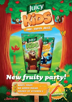 Juicy Kids – new fruit fun for the youngest ones
