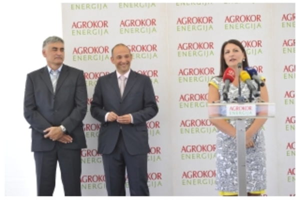Agrokor Group Opens First Biogas Facility