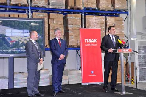 Tisak Opens New Distribution Center