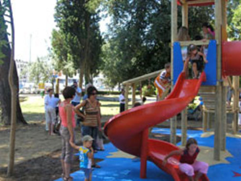 Konzum Renovates a Playground Within Vruljica Park