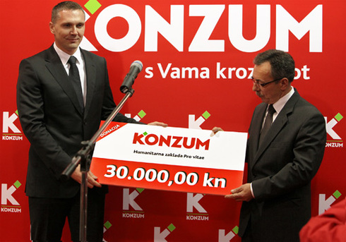 New Super Konzum Opened in Ivanec