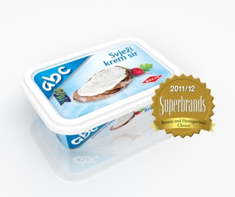 ABC Cheese Wins SUPERBRANDS Bosnia and Herzegovina Award