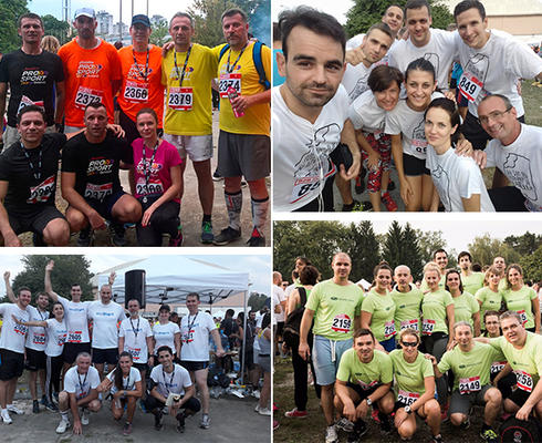 Four teams from Agrokor competed at the B2B RUN in Zagreb