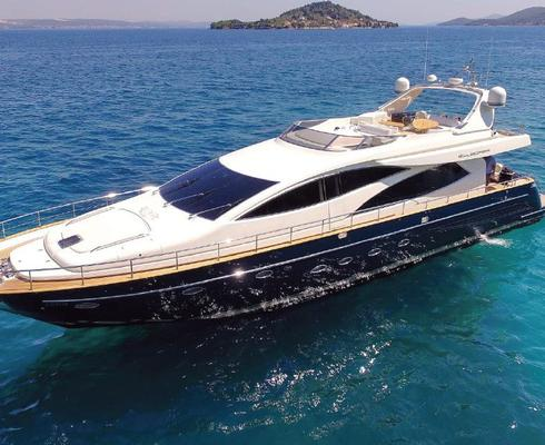 Motorized yacht Riva 85 Opera owned by Agrokor is available for inspection by potential buyers in Zadar from August 8