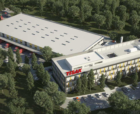 In Zagreb, Tisak's new distribution centre and HQ building were opened.