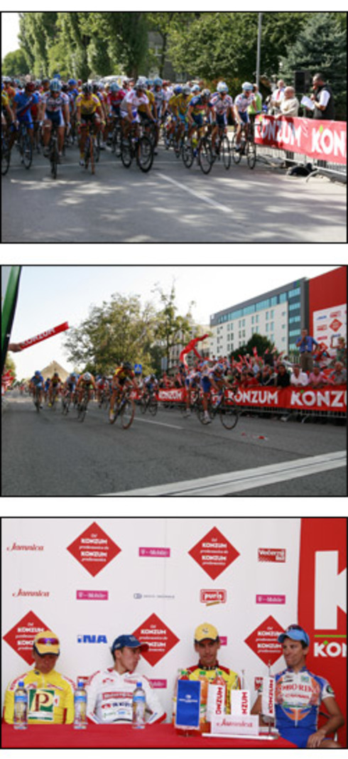 "Konzum as the main sponsor of cycling race ""The Tour of Croatia 2007"""