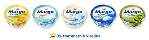 Margo - new visual identity and new Margo margarines