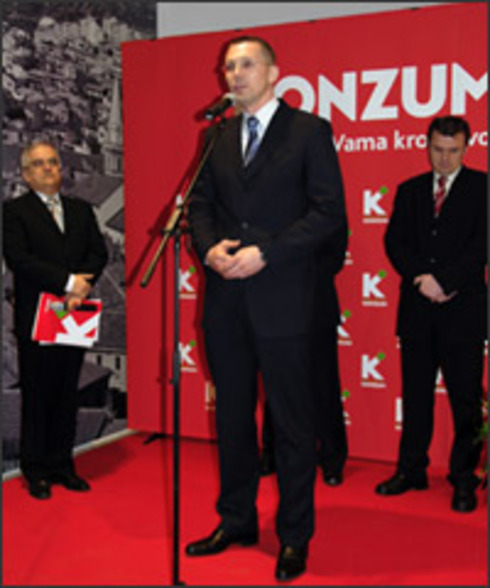 The first Super Konzum store opens in Senj