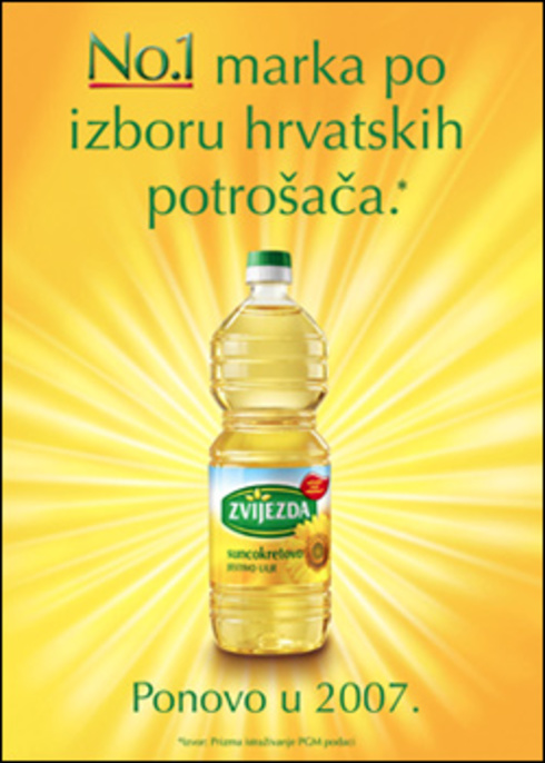 Zvijezda - Number One Brand According to the Choice of Croatian Consumers